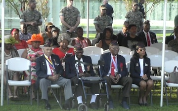 Montford Point Marine Day Ceremony