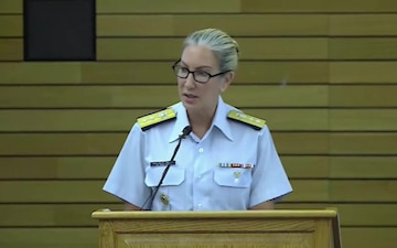 Women's Equality Day Event at Coast Guard Headquarters