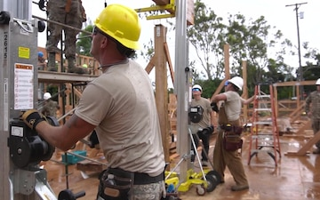 139th Civil Engineer Squadron constructs STEM center in Hawaii