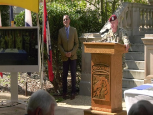 XVIII Airborne Corps 75th Anniversary Ceremony