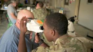 Optometry at Innovative Readiness Training Appalachian Care 2019