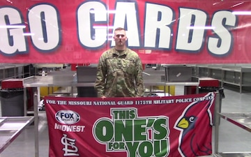 St. Louis Cardinals Shout-Outs from the 1175th MP Company