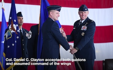 435th AEW/AGOW Assumption of Command 2019