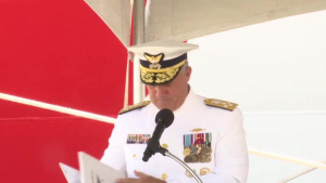 Coast Guard Dual Cutter Commissioning Ceremony