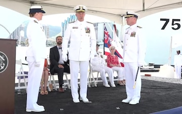B-Roll: U.S. Coast Guard commissions two national security cutters in Honolulu