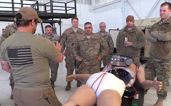136th Inspector General Members Aquire Medical Manikin Training Innovation