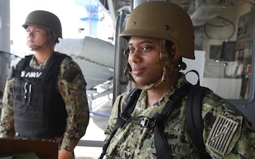 Women's Equality Day aboard USS Blue Ridge