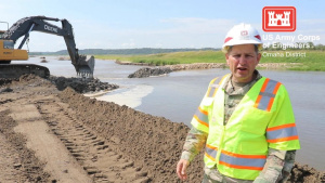 Col. John Hudson provides update on Levee L550 Aug. 23, 2019