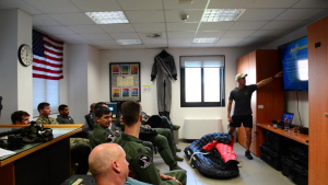 SERE: Water Survival Training