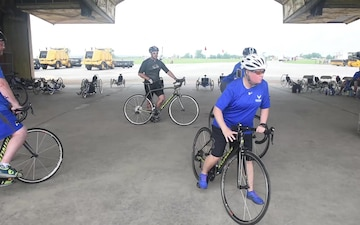 Scott Air Force Base AFW2 CARE Event Cycling