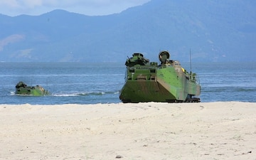 B-Roll: Partner nations respond to simulated crisis during 60th iteration of multinational exercise in Brazil