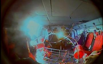 Coast Guard air station crew assists mariners in distress near Kodiak Island