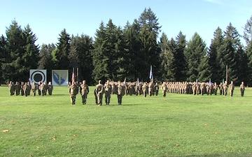 201st MI Brigade Deployment Ceremony