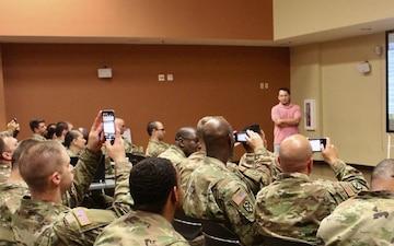 595th Transportation Brigade Hosts Theater Academic Seminar