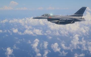 F-16 Fighting Falcon Flutter Testing