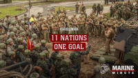 Marine Minute: 11 Nations One Goal