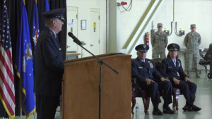 2nd Air Force Change of Command