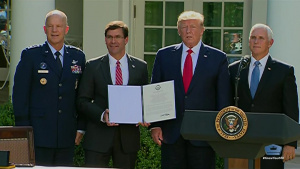 Space Command Establishment Ceremony