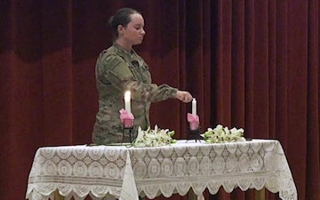 1st TSC Hosts Women's Equality Day at Camp Arifjan