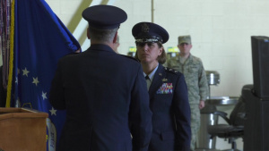 2nd Air Force Change of Command 2