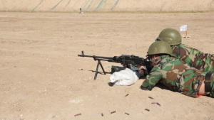 Iraqi Security Forces PKM Range