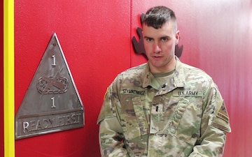 Social Media: I Am the Ready First, 1st Lt. Nathaniel Szymkowicz