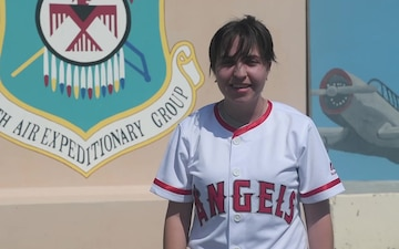 SSgt Naomi Mevis (USAF) Los Angeles Angels Shout Out
