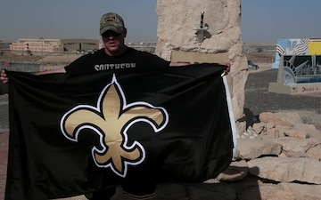 SSgt Chad Penny New Orleans Saints Shout Outs