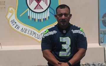 GySgt Leo Tapia Seattle Seahawks Shout Out