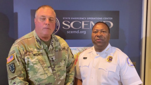Public safety message from adjutant general for South Carolina, South Carolina Public Safety director
