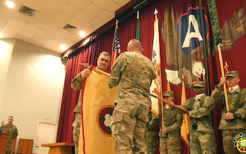 184th Sustainment Command TOA Ceremony