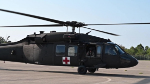 West Virginia National Guard aviation deploys for Hurricane Dorian assistance B-Roll