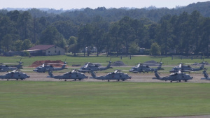 Air Force aircraft evacuate to Maxwell