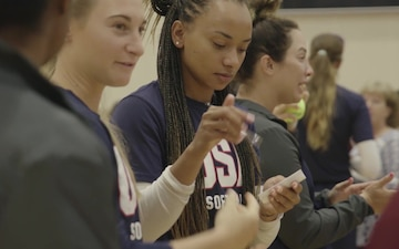 USA Softball Women's National Team back in town