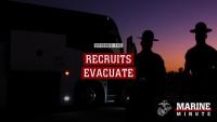 Marine Minute: Recruits Evacuate