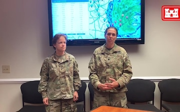 Corps South Atlantic Division Commander Hurricane Dorian Update
