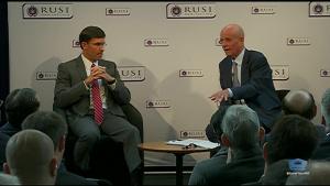 Esper Discusses Global Security in London