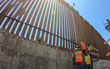 Wall Construction in San Ysidro (2 of 4)