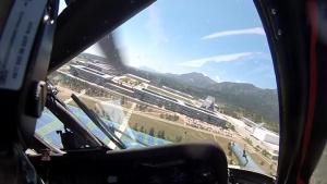 Flight Over USAFA