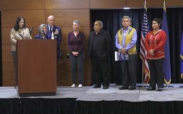 Alaska Federation of Natives Naming Ceremony Lt. Gen. Thomas Bussiere