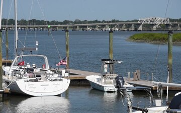 Coast Guard conducts assessments of South Carolina marinas following Hurricane Dorian