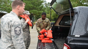 A message from the adjutant general for South Carolina on Hurricane Dorian response efforts