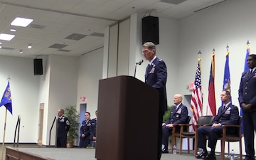 165th Airlift Wing Change of Command
