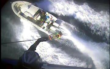 Coast Guard medevacs diver 57 miles offshore Galveston, Texas