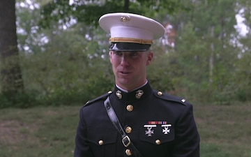 Marine from Boston takes advantage of Enlisted to Commissioning Program (Interview)