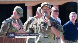 146th Airlift Wing unveils new heritage plaza