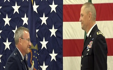 Brigadier General Robert Becklund Retires