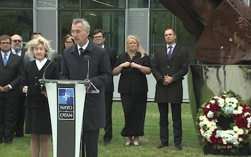 Remarks of Secretary General and U.S. Permanent Representative to NATO at the 9/11 Ceremony