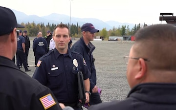 Ted Stevens Anchorage International Airport and JBER Fire Department Conduct Live Fire Training