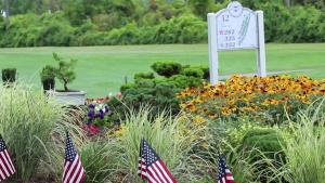 Selfridge ANGB 9/11 Garden